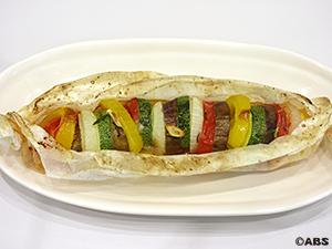 夏野菜のレイヤーグリル