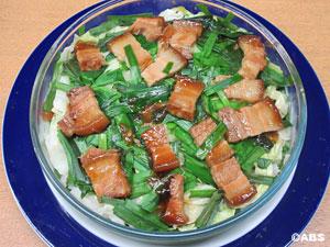 [#8]豚角煮のキャベツ蒸し