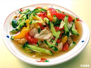 [#32]ゆず白菜と焼きパプリカのサラダ風