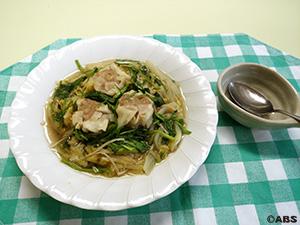 肉焼売の白菜スープ煮