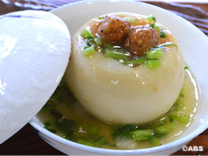 [#59]ミートボール入り  かぶの蒸し煮、ミートボールの千切りキャベツの卵とじ