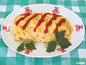 [#64]ななチキのキャベツ入り卵包み、ななチキの白玉入りスープ