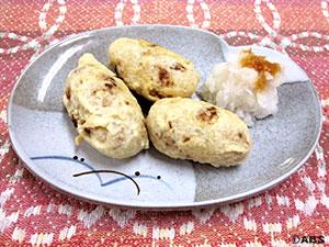 [#66]焼おにぎりの天ぷら、焼おにぎりの肉巻き
