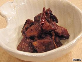 カスベのバルサミコ酢煮