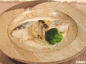 鱈の味噌クリーム煮