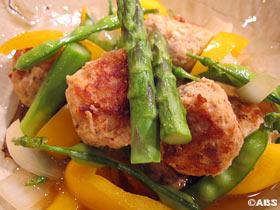 春野菜と肉団子の煮込み