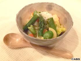 春野菜のミネストローネ