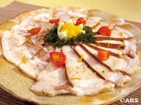 柚子風味 豚肉の紅茶煮