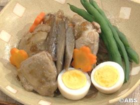 鶏肉とゴボウのやわらか煮