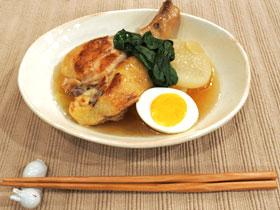 鶏と大根の柔らかスープ煮