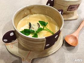 [減塩レシピ]カキのミルク茶わん蒸し