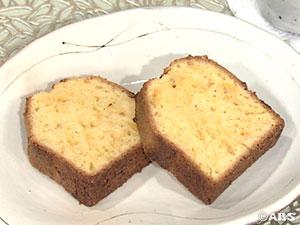みそとチーズのパウンドケーキ