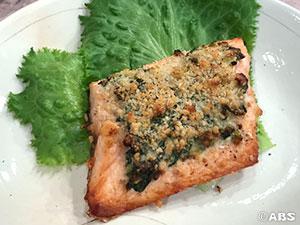 [減塩レシピ]春マスのマヨソース