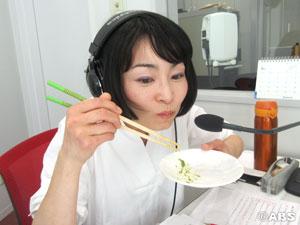 雪絵さん試食