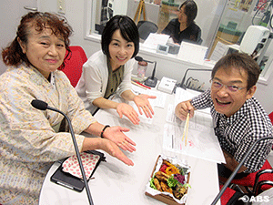 秋田県味噌醤油工業協同組合の新山さん