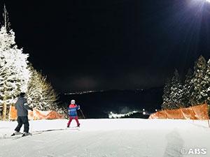太平山スキー場オーパス ナイター