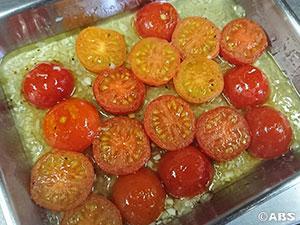 焼きトマトのマリネ