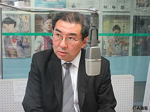 秋田県労働組合総連合会 事務局長の越後屋建一さん