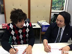 松永先生とマッティ