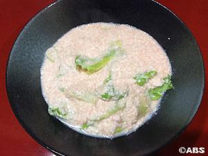 明太子豆腐のあんかけ