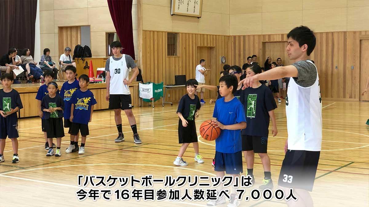 ペッカーズ バスケットボールクリニック