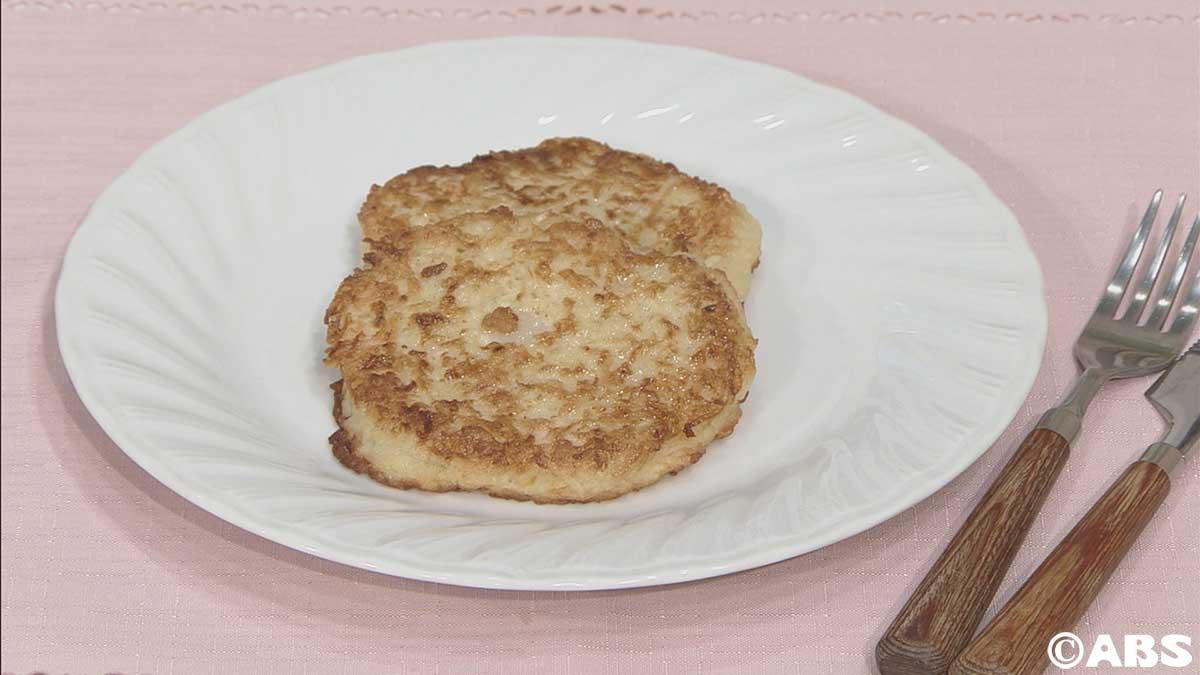 う~マイケルポテトパンケーキ