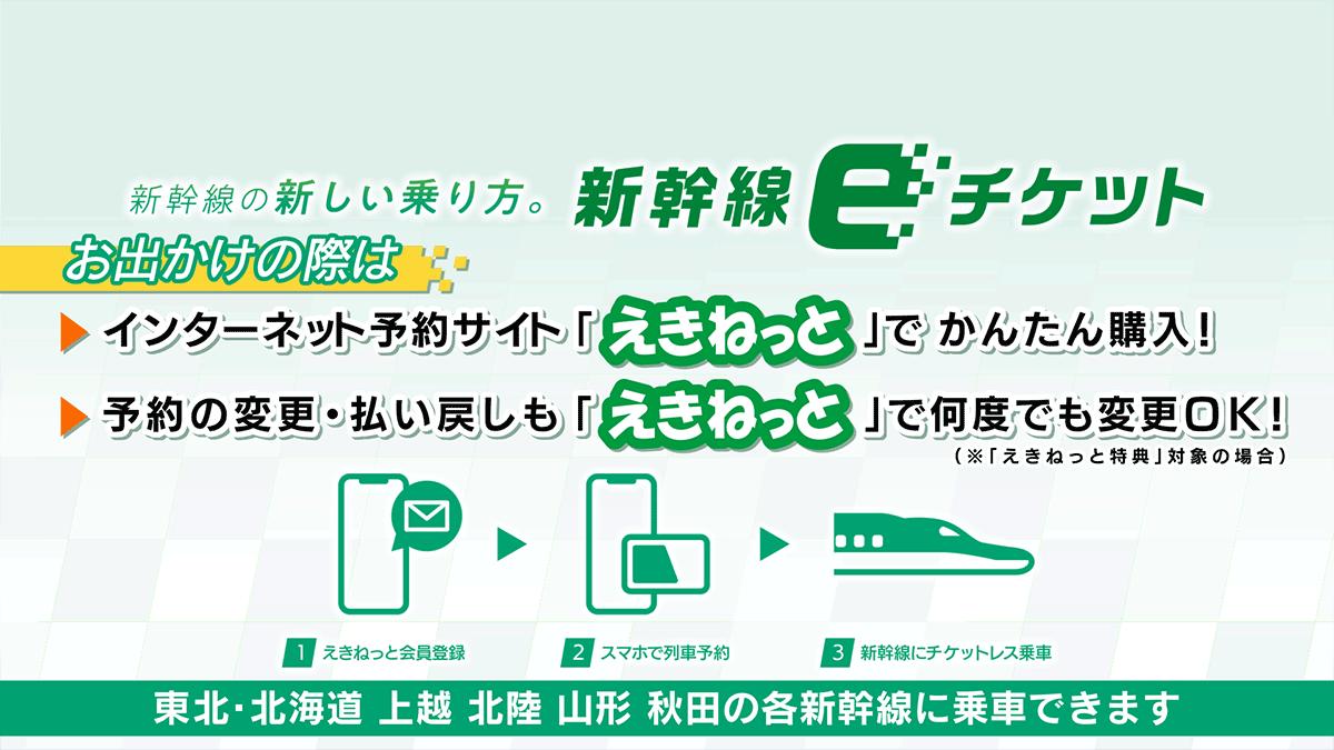 新幹線eチケット