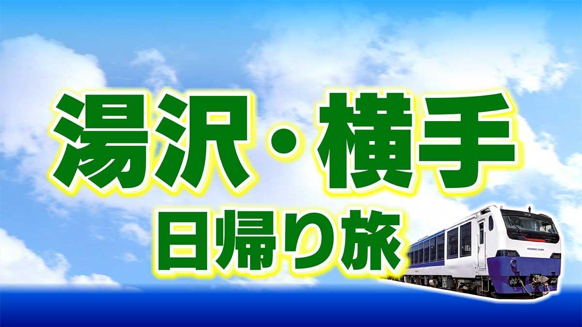 添乗員同行「団体専用臨時列車で行く春の湯沢・横手日帰りの旅」
