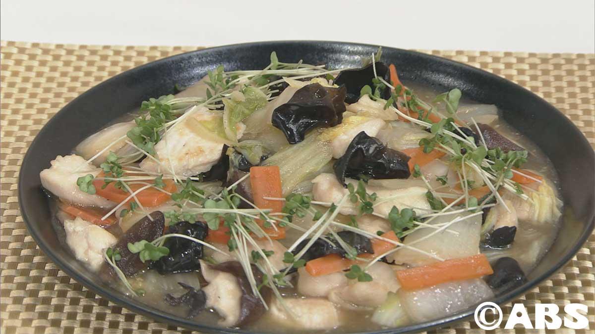 鶏胸肉と野菜のうま塩煮