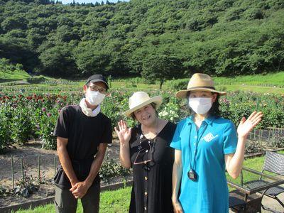 秋田国際ダリア園「ガーデンウエディング」