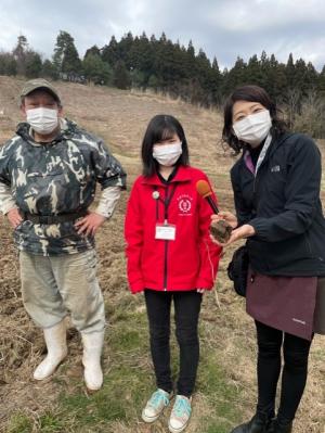 秋田市「援農ボランティア」