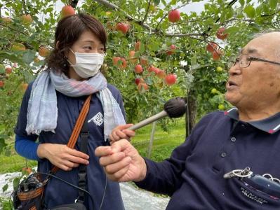 日本を元気に~あなたの街のささえびと りんご栽培65年以上 平野亮一さん(鹿角市)