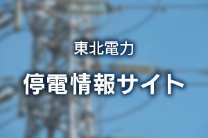 停電情報  東北電力停電情報サイト