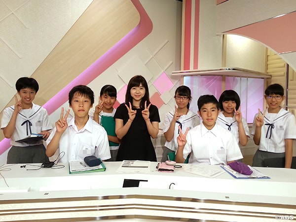 秋田大学教育文化学部附属中学校2年生(1)