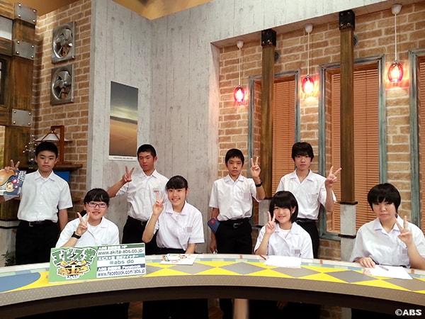 湯沢市立稲川中学校2年生