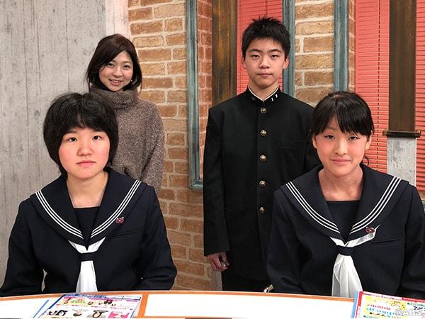 秋田市立外旭川中学校1年生