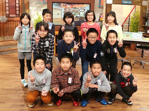 秋田市立下浜小学校5年生