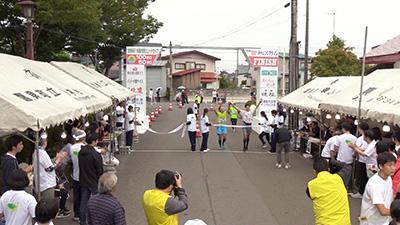 フィニッシュシーン 11時56分から13時58分<br>〜秋田内陸100キロチャレンジマラソン2019〜