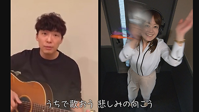 【#うちで踊ろう】星野源×佐藤有希