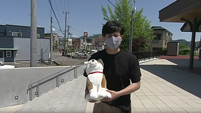 ABSえび☆ステ【あきたNOW!】秋田犬の里