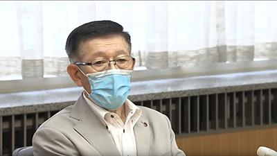 佐竹知事 記者会見「不要不急の往来 遠慮を」(ノーカット版)