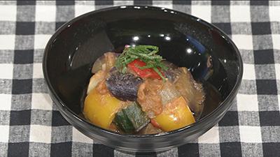 ABSえび☆ステ【シェフズレシピ】和風ラタトゥイユby最上美貴子