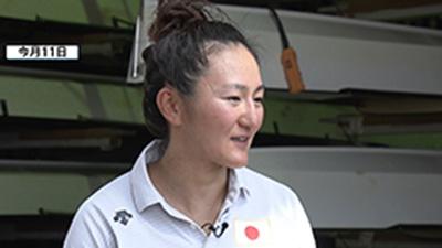 カヌー小野選手 東京五輪へ新たな決意