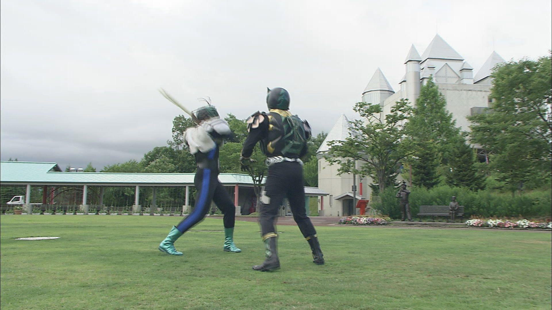 超神ネイガー あきた観光地大決戦③ 秋田ふるさと村