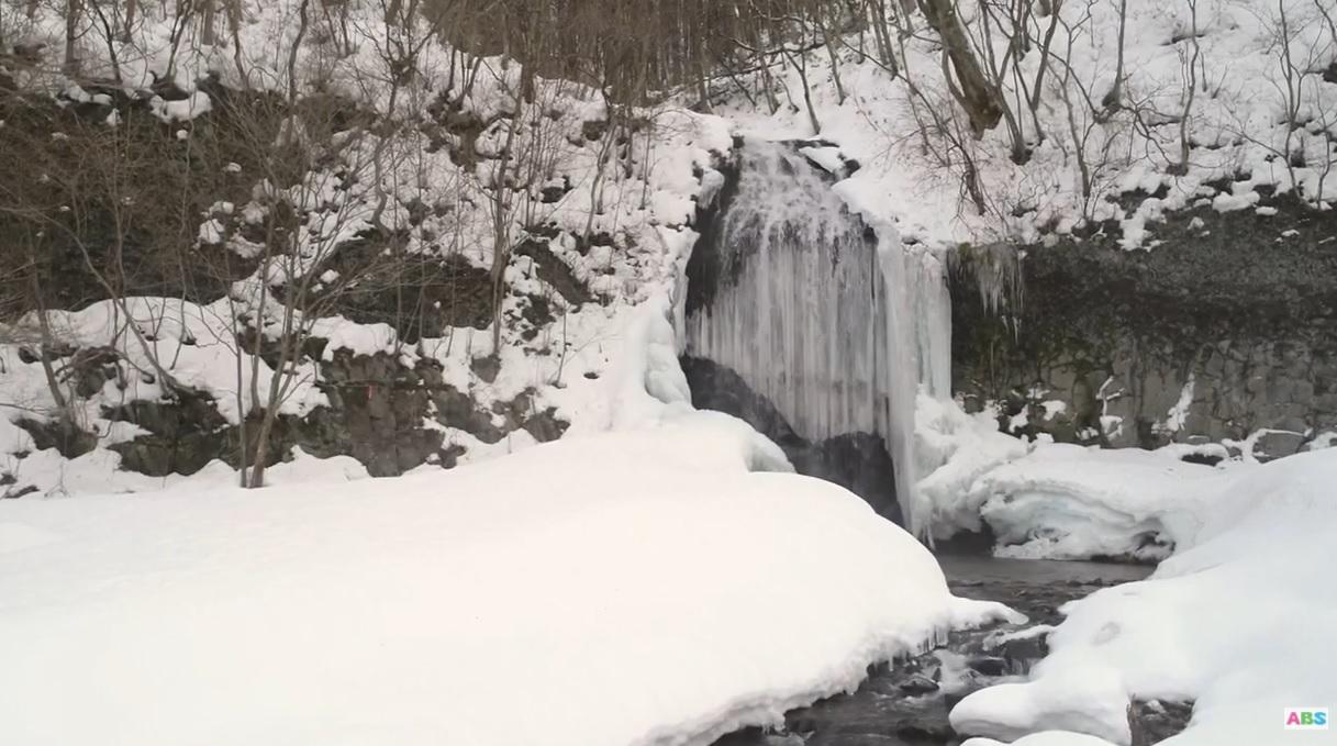 秋田県鹿角市 湯の又の滝