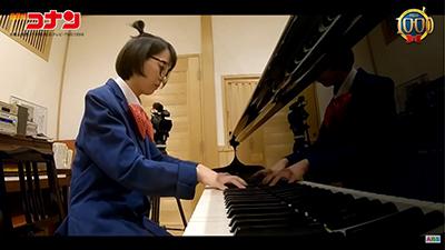 竹本アナが「月光ソナタ」を弾いてみた‼