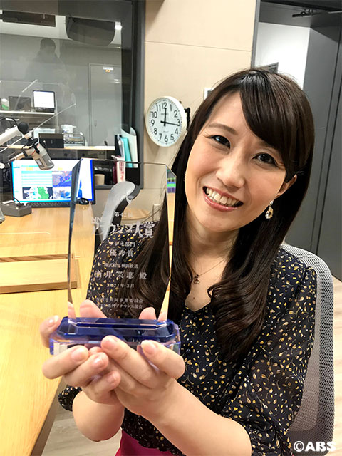 秋田放送のラジオスタジオ